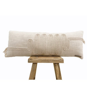 Buchra Cushion 30x80cm - Willow & Beech Desert Collection
