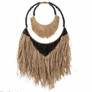 Maui Hula Wall Hanging | Double Hoop | Black
