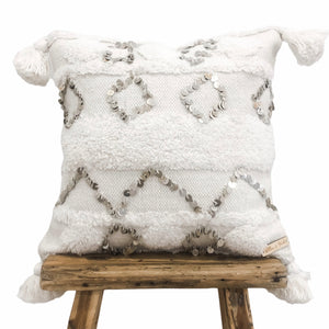 Willow & Beech Collection - Ostara Diamonds Cushion Cover 45x45cm