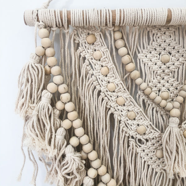 Macrame Wall Hanging - Natural