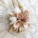 Hanging Flower Shell Ornament
