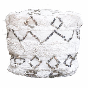 Willow & Beech Collection - Ostara Pouffe 45x45x45cm