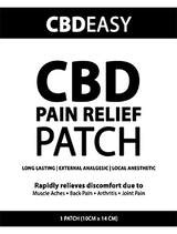 CBD transdermal pain relief patch