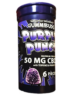 Gummibuds - Purple Punch Gummies
