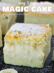 Magic Banana Cake
