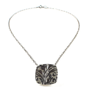 fine silver necklace