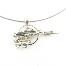 Load image into Gallery viewer, contemporary silver necklace