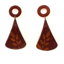Load image into Gallery viewer, leaf boho earrings