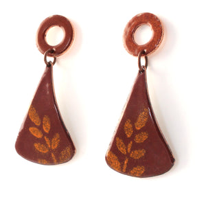 contemporary boho earrings