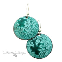 Load image into Gallery viewer, Turquoise earrings with sterling silver ear wires