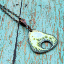 Load image into Gallery viewer, Lichen Enamel Necklace