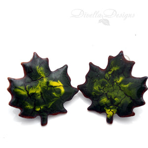 maple leaf studs