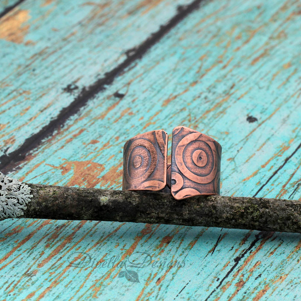 Copper Boho Ring