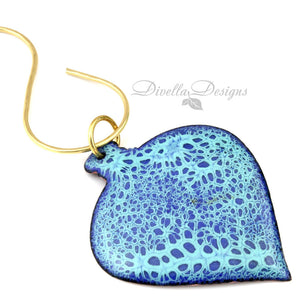 blue christmas tree ornament