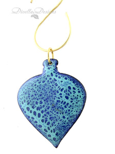 Enamel Tree Ornaments
