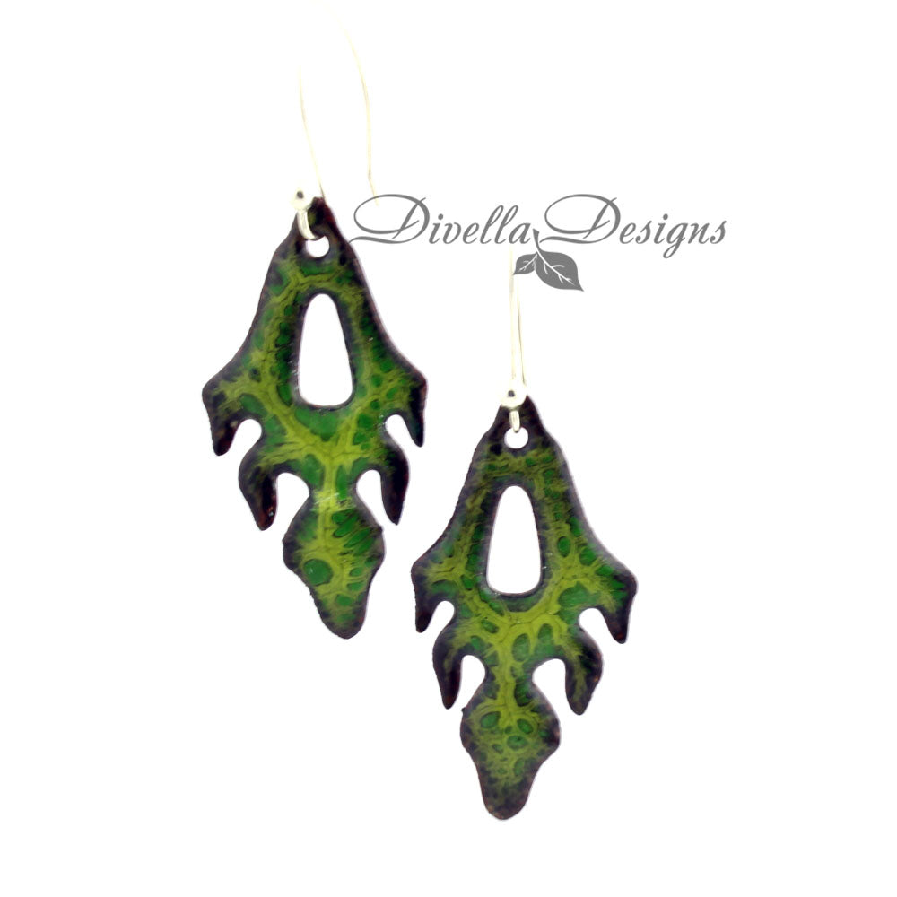 contemporary boho earrings by divelladesigns.com