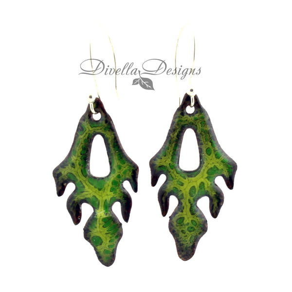 Nature inspired earrings