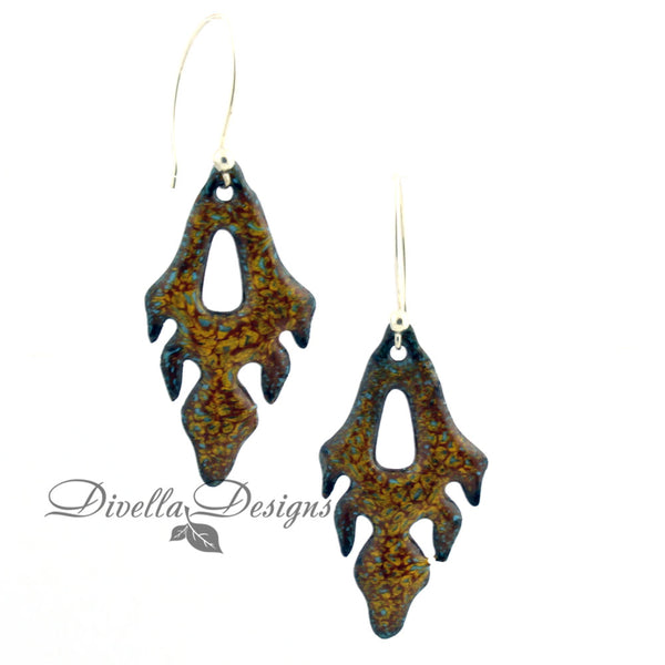 fall dangle earrings by divelladesigns.com