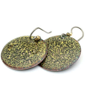 animal print earrings by divelladesigns.com