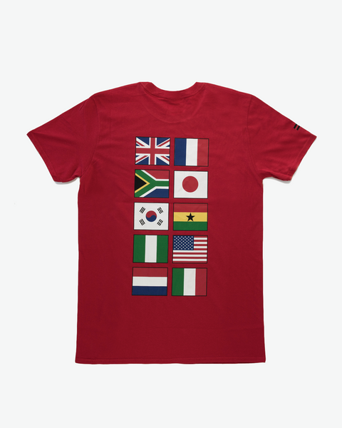 Red FUBU International T-shirt
