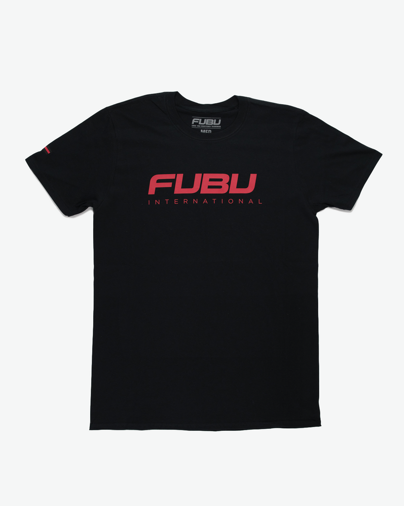 Black FUBU International T-Shirt