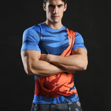 Goku Battle Torn Gi Short Sleeve Compression Shirt - Prohero Store