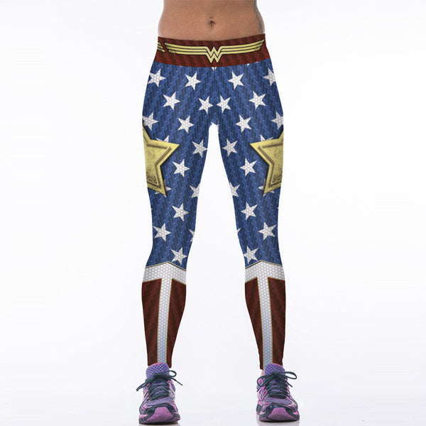 Wonder Woman Gym Leggings - Prohero Store