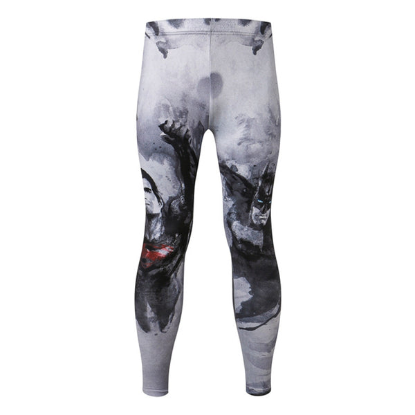 Men's Batman vs Superman Gym Compression Leggings Pants - Prohero Store