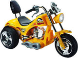 Mini Motos Red Hawk Motorcycle 12v Yellow - Best Buy Affordable