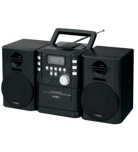 JEN-CD-725 Portable CD Music System with Cassete/FM by Jensen - Best Buy Affordable