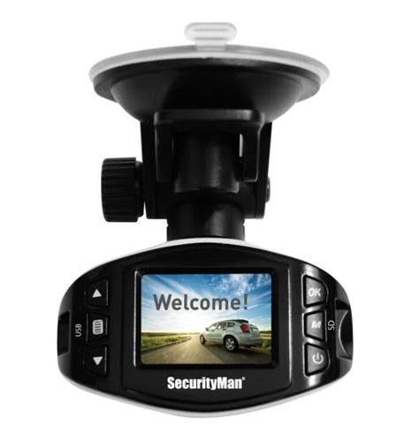 SEC-CARCAM-SDEII 1080P HD Dash Camera Recorder With Audio by SecurityMan - Best Buy Affordable