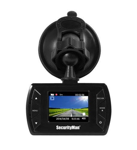 SEC-CARCAM-SDE Mini HD car camera recorder w/impact sen by SecurityMan - Best Buy Affordable