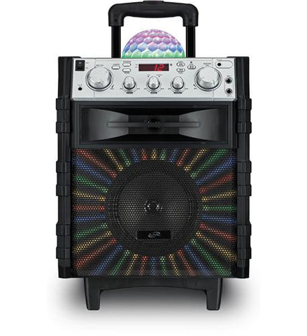 ILIVE-ISB785B Wireless Tailgate Speaker w/ Disco Ball - Best Buy Affordable