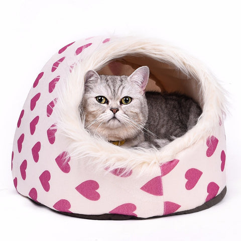 Cat Cave Bed Pet Cat House Lovely Soft Pet Cat Cushion - Best Buy Affordable