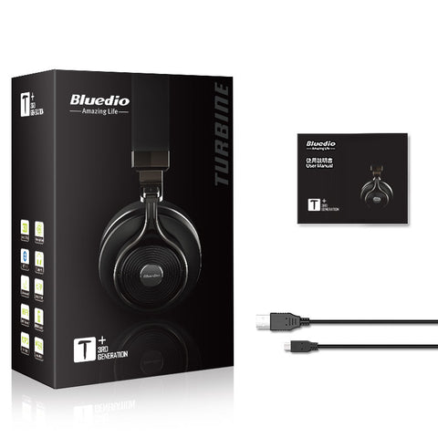 Bluedio T3 Plus Wireless Bluetooth  Headphones/headset with Microphone/Micro SD Card Slot - Best Buy Affordable