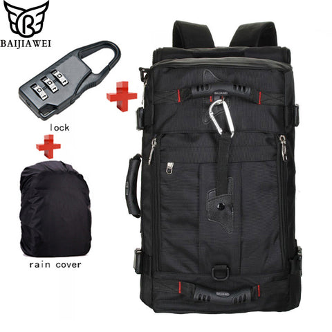 BAIJIAWEI Hot Lock+ Cover + Bag Laptop Backpack Men Luggage & Travel Bags - Best Buy Affordable