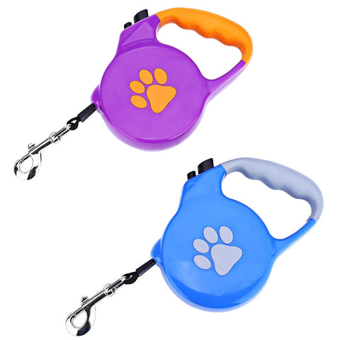 New Retractable 5m Extendable Retractable Dog Pet Lead Training Leash 3m/5m Long Training Rope for Small Medium Dog - Best Buy Affordable