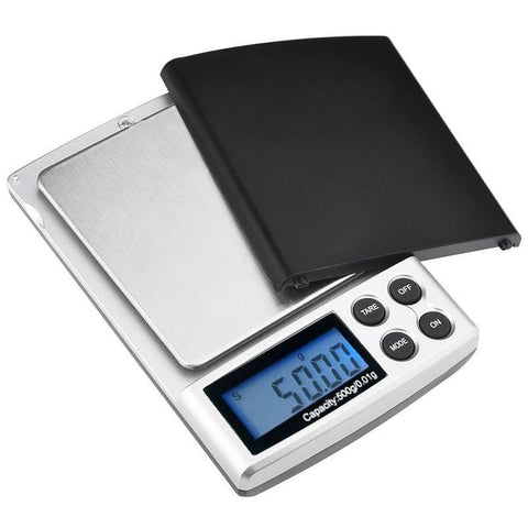 500g x 0.01g Digital Pocket Scale with LCD display Gold Silver Jewelry Weight Balance Weighing Tool - Best Buy Affordable