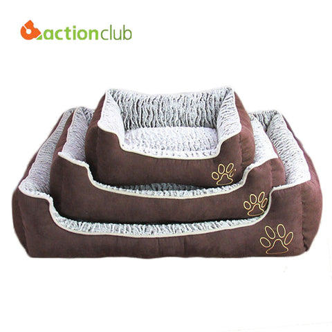 Actionclub Dog House Pets Beds Big Dogs Fashion Soft  Dog House High Quality PP Cotton Pet Beds - Best Buy Affordable