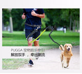 Nylon Running Leash For Pets Dog Lead Rope Elastic Waist Belt Strap Traction Rope - Best Buy Affordable