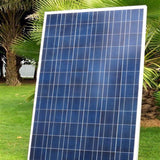 DE Stock 100 Watt Polycrystalline solar panel for 12V RV Boat Home