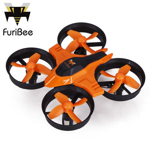 FuriBee F36 Mini Drone 2.4GHz 4CH 6 Axis Gyro RC Quadcopter with Headless Mode Speed Switch RC Drones - Best Buy Affordable