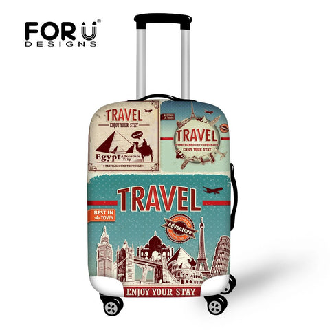 FORUDESIGNS Scenery Elastic Style Travel Luggage for 18-30 inch Suitcase Cute with Protect Cover - Best Buy Affordable