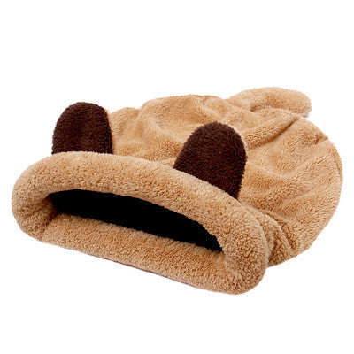 Cute Cat Sleeping Bag Warm Dog Cat Bed Pet Dog House Lovely Soft Pet Cat Mat Cushion - Best Buy Affordable
