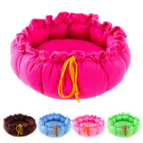 Soft Fleece Cozy Nest Bed House for Puppy Cat Small Medium Pet Dog Cotton Sofa Bed Pet Products - Best Buy Affordable