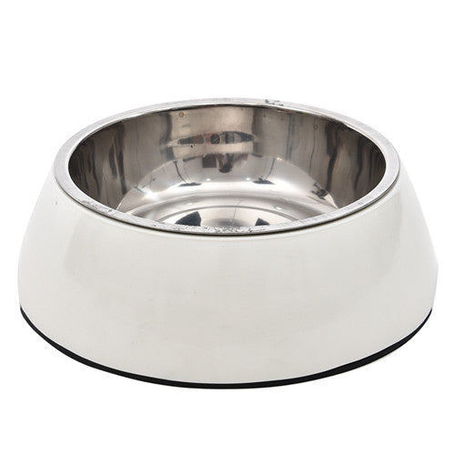 Durable Stainless Steel Pet Dog Cat Food Feeder Dish Steel Dog Cat Food Water Bowl - Best Buy Affordable