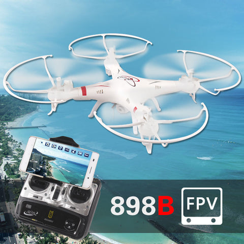 31CM HQ898B RC Drones Quadcopter with 2MP HD WIFI FPV Real-time Camera Helicopter Remote control - Best Buy Affordable