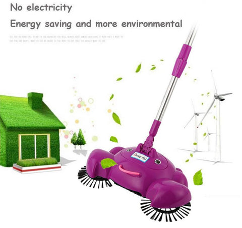 360 Rotary Home Use Magic Manual Telescopic Floor Dust Sweeper rotate floor mop household helper - Best Buy Affordable