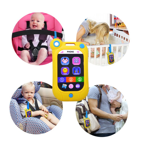 Baby Kids Learning Study Musical Sound Cell Phone Children Educational Toys - Best Buy Affordable