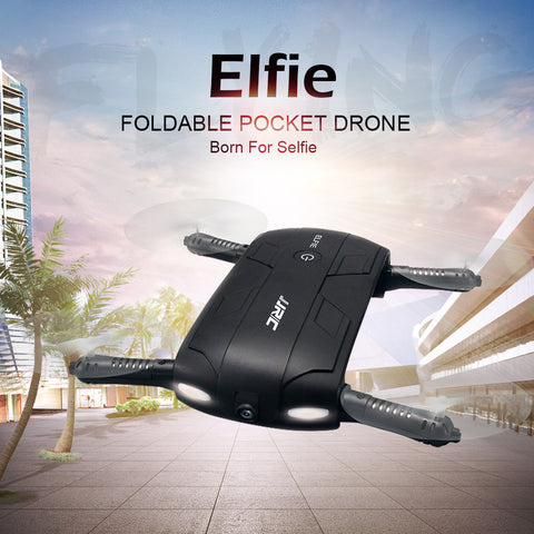JJRC H37 RC Drone Elfie Pocket Gyro WIFI FPV Quadcopter Selfie Dron Foldable Headless Mini Drones with HD Camera - Best Buy Affordable